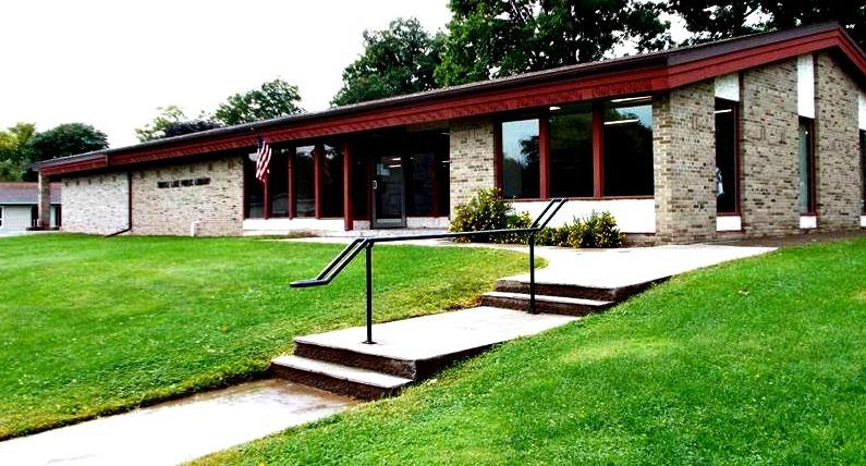 Turtle Lake Public Library Entrance